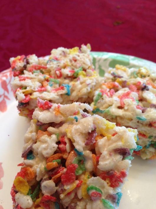 Fruity Rice Cereal Treats