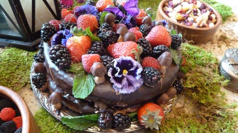Midsummers Night Cake